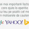 Factori rankare site in Google