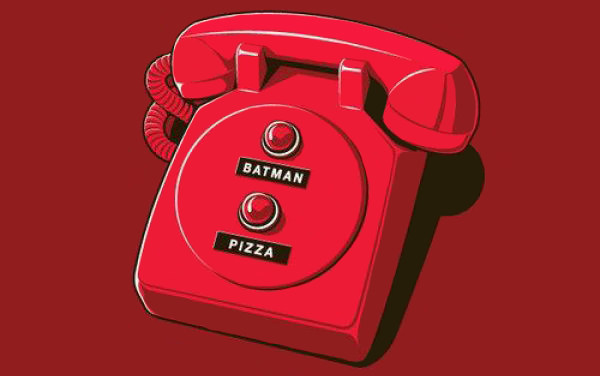 Batman sau pizza